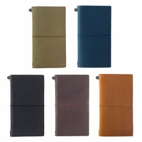 High Quality Moterm Notebook Genuine Leather Notebook Handmade Traveler S Notebook Classic Vintage Style Cowhide Diary