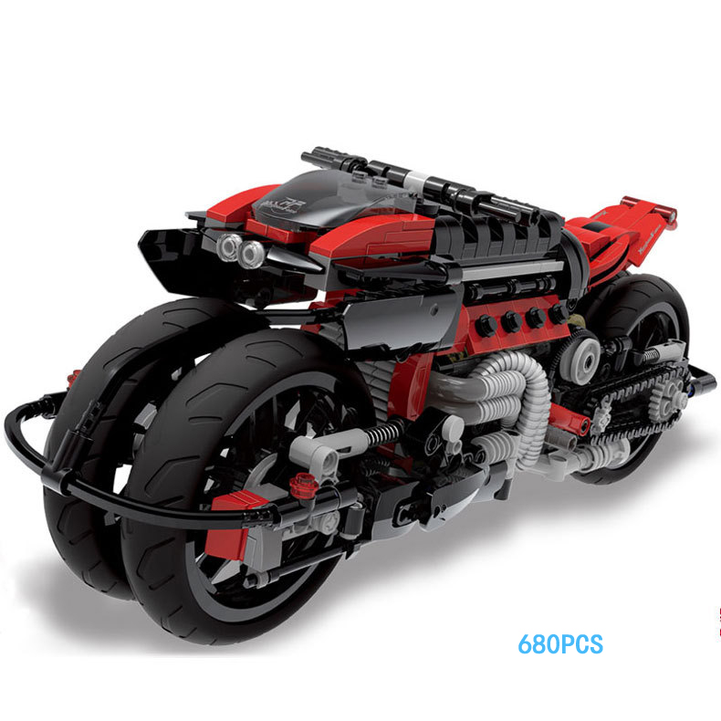 Hot Future technology Peregrine Falcon motorcycle moc building block model bricks toys collection for adult kids gifts hot modern military t92 tank moc building block model bricks toys collection for adult children gifts