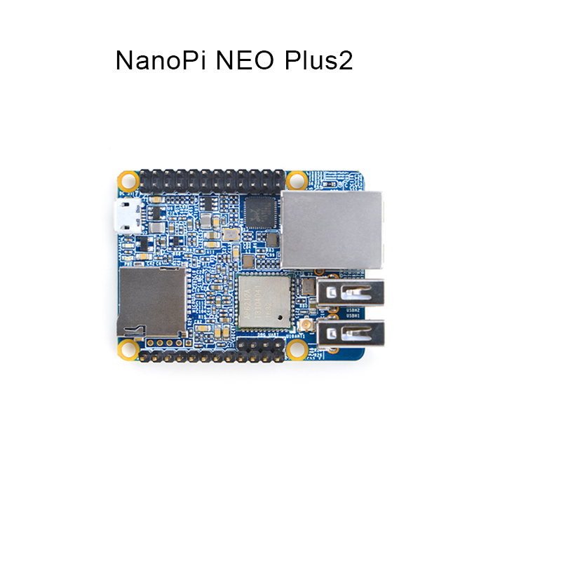 NanoPi NEO Plus2, full log H5, gigabit port,IoT development board,WiFi bluetooth цена и фото