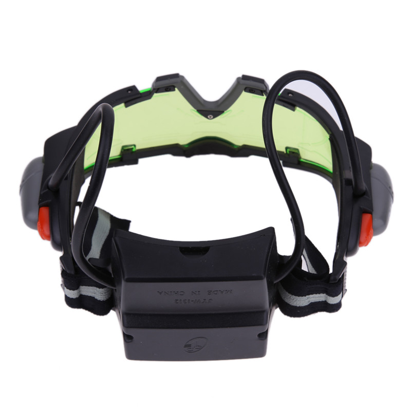 2017 hot sale hunting night vision goggles with LED for hunter, tactical night vision protective goggles for hunting sniper