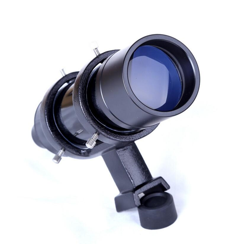 Finder scope 7X Magnification Astronomical Telescope Finderscope Riflescopes With Cross Reticle 7x50 fast shipping