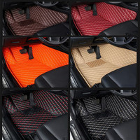 car floor mats for honda accord 2003 2007 civic city jazz crv stream elysion spirior insight auto accessories 3D car mats