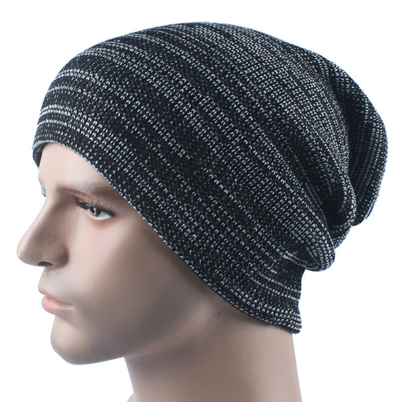 New Men Women Beanie Hat Winter Beanies knitted Female Beanies Mens Hat Warm Bonnet Femme Gorros Outdoor Ski Sport Cap knitted winter warm female hat rabbit fur beanie cap woman chunky baggy cap skull gorros de lana mujer bonnet femme beanies cap