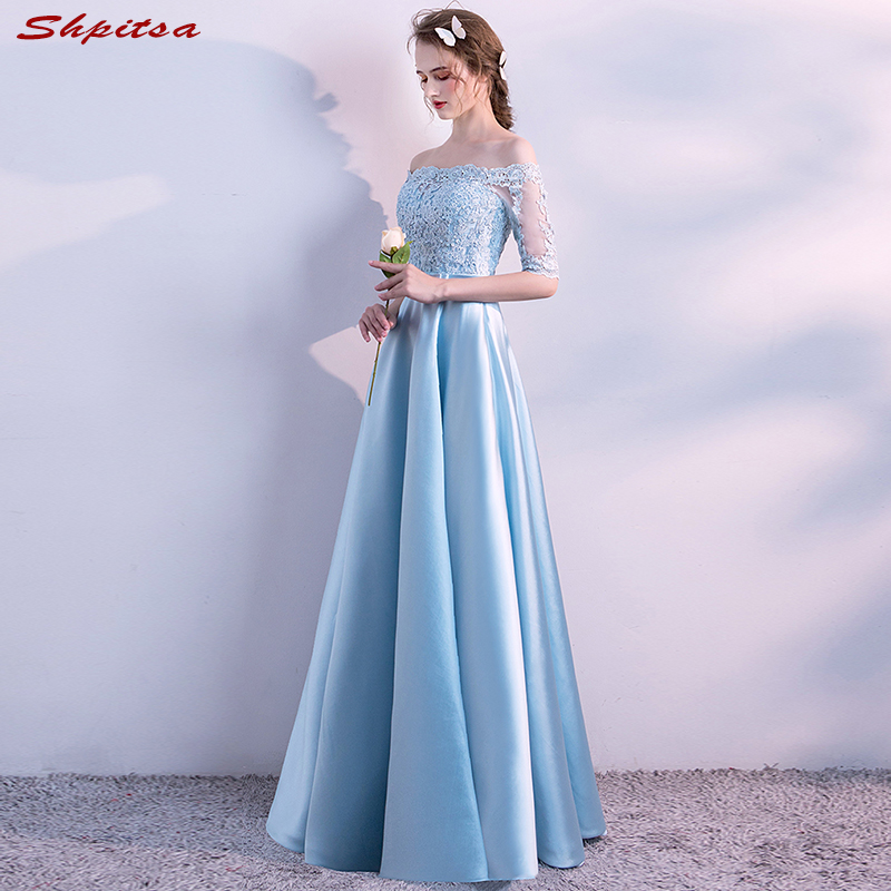 Light Blue Mother Of The Bride Dresses For Weddings Off