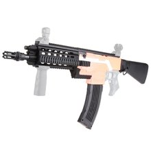 Lightweight Gift Toys for Game Players Mod Extend Barrel Shoulder Stock Kits Combo 16 Items For Nerf STRYFE DIY Toy Guns Parts