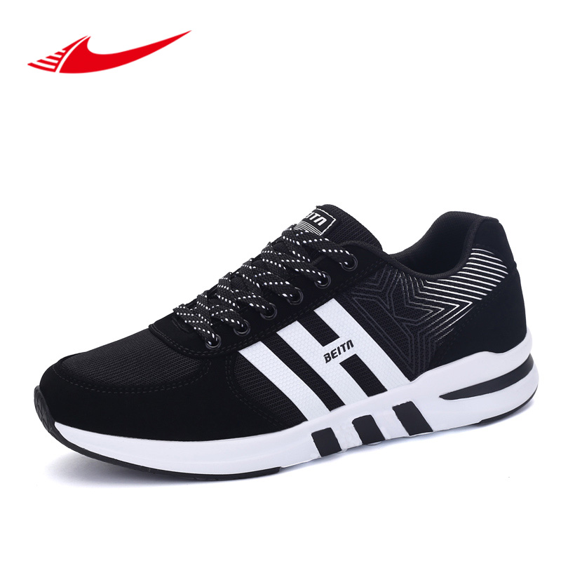 Beita 2017 New Autumn Men Running shoes Outdoor Lace-Up Brand Sneakers Male Sport Shoes 39~44 size