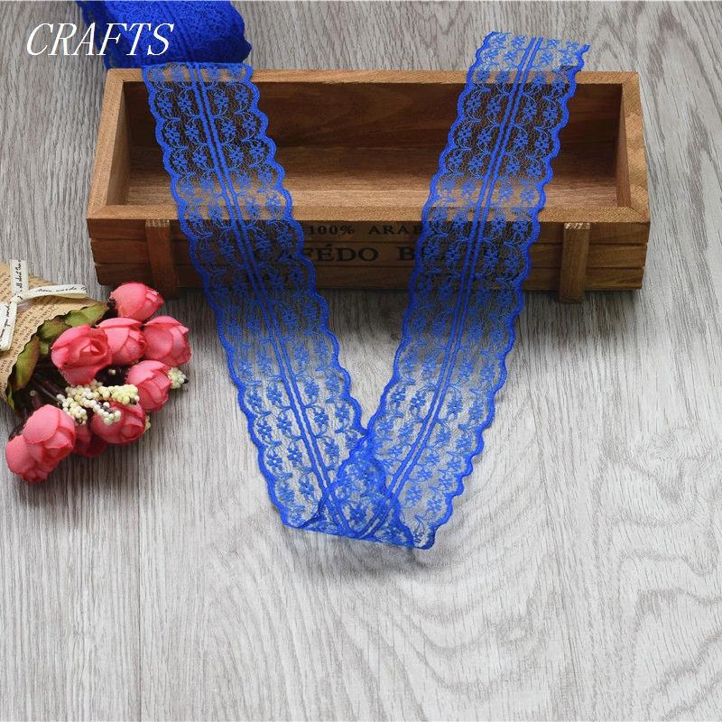 HTB1wuRRgL6H8KJjSspmq6z2WXXaB New! 10 yards of beautiful lace ribbon, 4.5 cm wide, DIY Clothing / Accessories / floral accessories, etc.