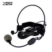 WH20TQG мини XLR 4 Pin TA4F Вокальный динамический головной микрофон гарнитуры для SHURE беспроводной системы бодипак передатчик KCX1 QLXD1