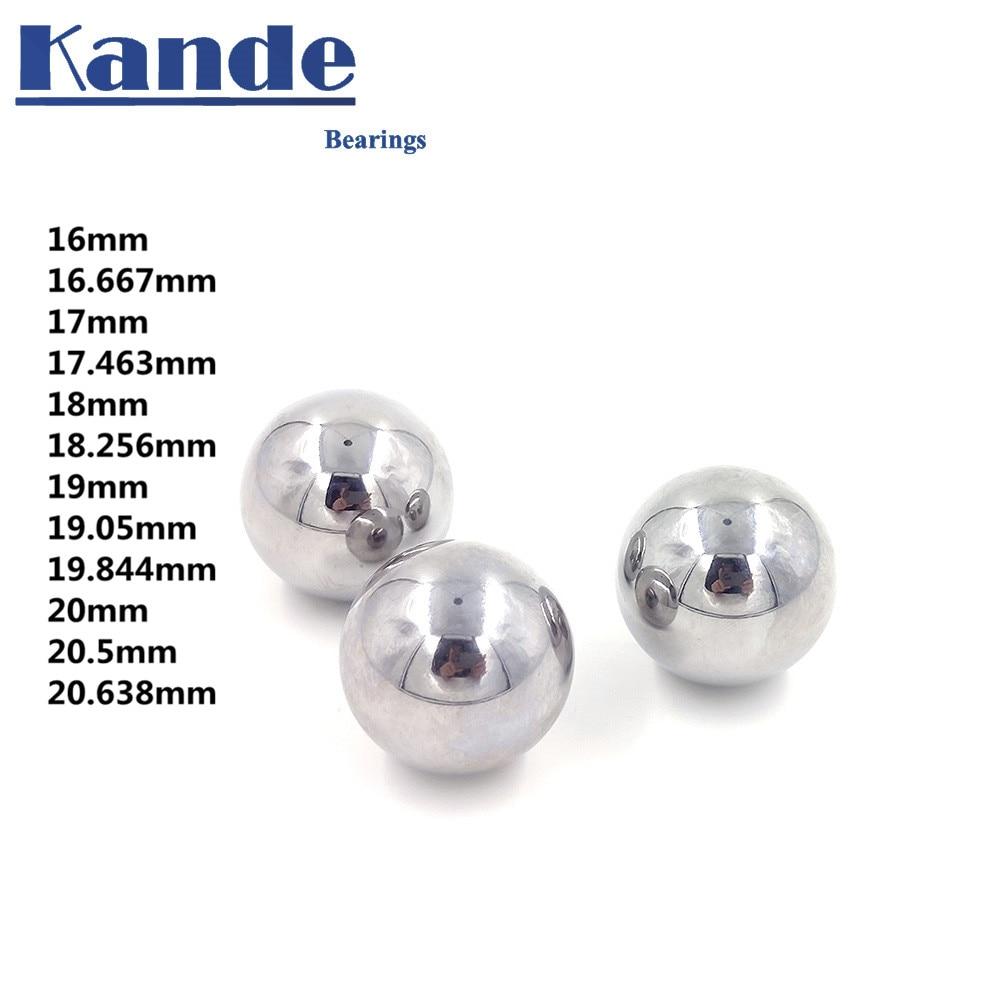 """G10 Hardened Chrome Steel Bearing Balls 11//16/"""" inch 17.463mm 10 PCS"""