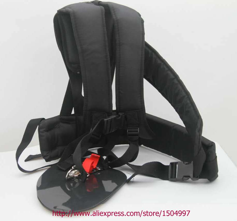 JAPAN Grass Cutter Accessories Double Shoulder Strap Harness For Brush Cutter with Confortable Shoulder PadsLeg Protection Panel