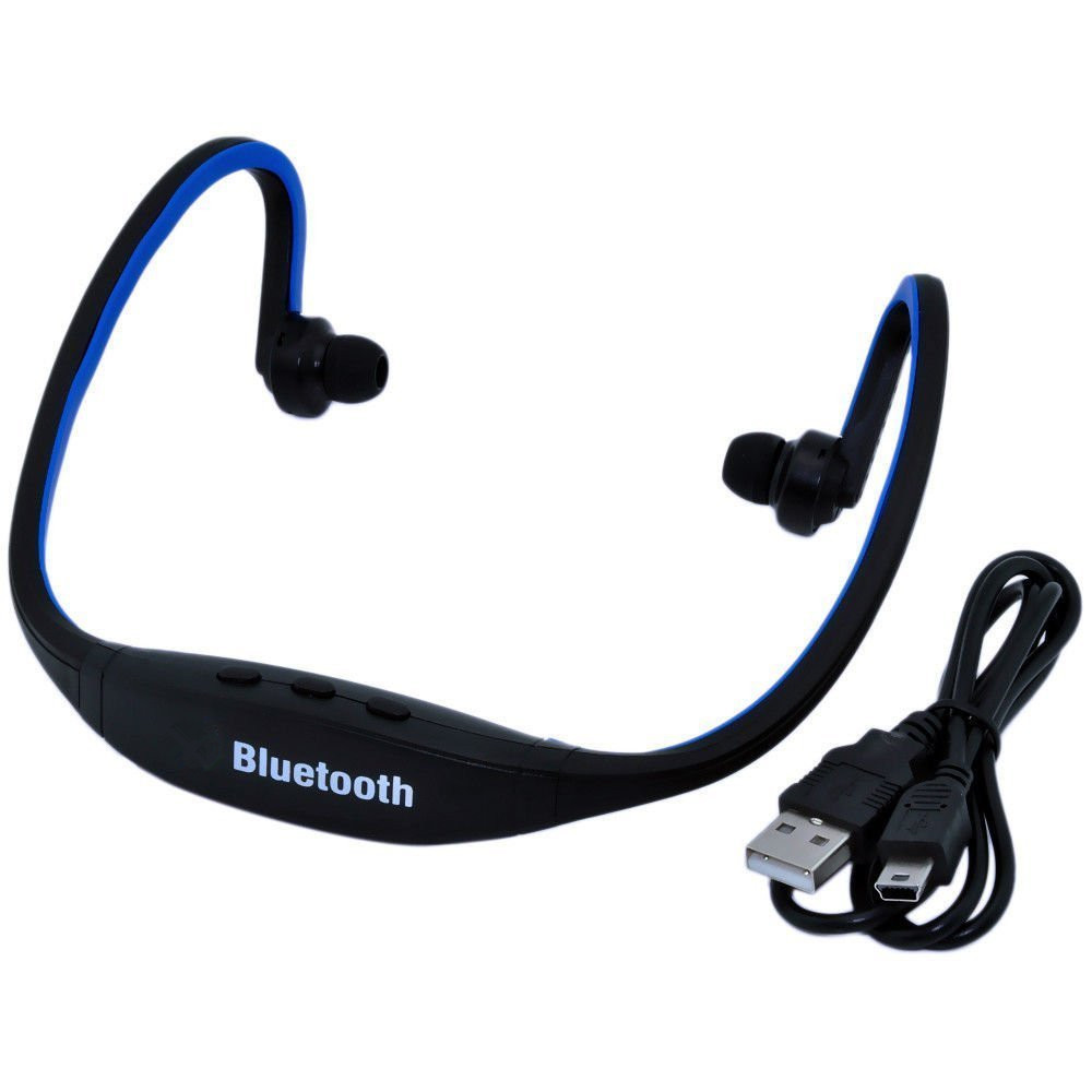Universal S9 Mini Headset Lightweight Wireless Bluetooth Earphone Stereo Sound Sports Running & Gym Exercise Ear Hook Headphone