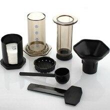 Freies verschiffen Die tragbare kaffeekanne/Ähnliche AeroPress Espresso kaffee filter + 350 stücke kaffeemaschine filterpapier