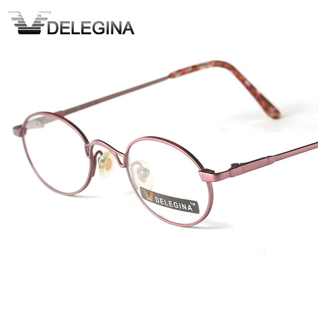 0b62cc772932a DELEGINA Ladies Optical Eye Glasses frame Spectacles Frames For Women Girls  myopia Reading Prescription Eyewear Customized