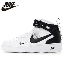 Nike Air Force 1 New Arrival Men Skateboarding Shoes Anti-Slippery Air Cushion Original Outdoor Sports Sneakers #804609 original new arrival authentic nike dunk sb low pro zoom anti slippery men s skateboarding shoes sports sneakers trainers