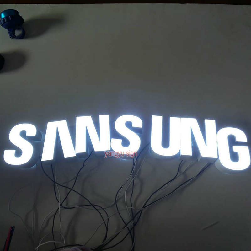 Us 150 0 Custom Outdoor Mobile Phone Name Design Sign Board Lighting Up Letters In Led Modules From Lights On Aliexpress