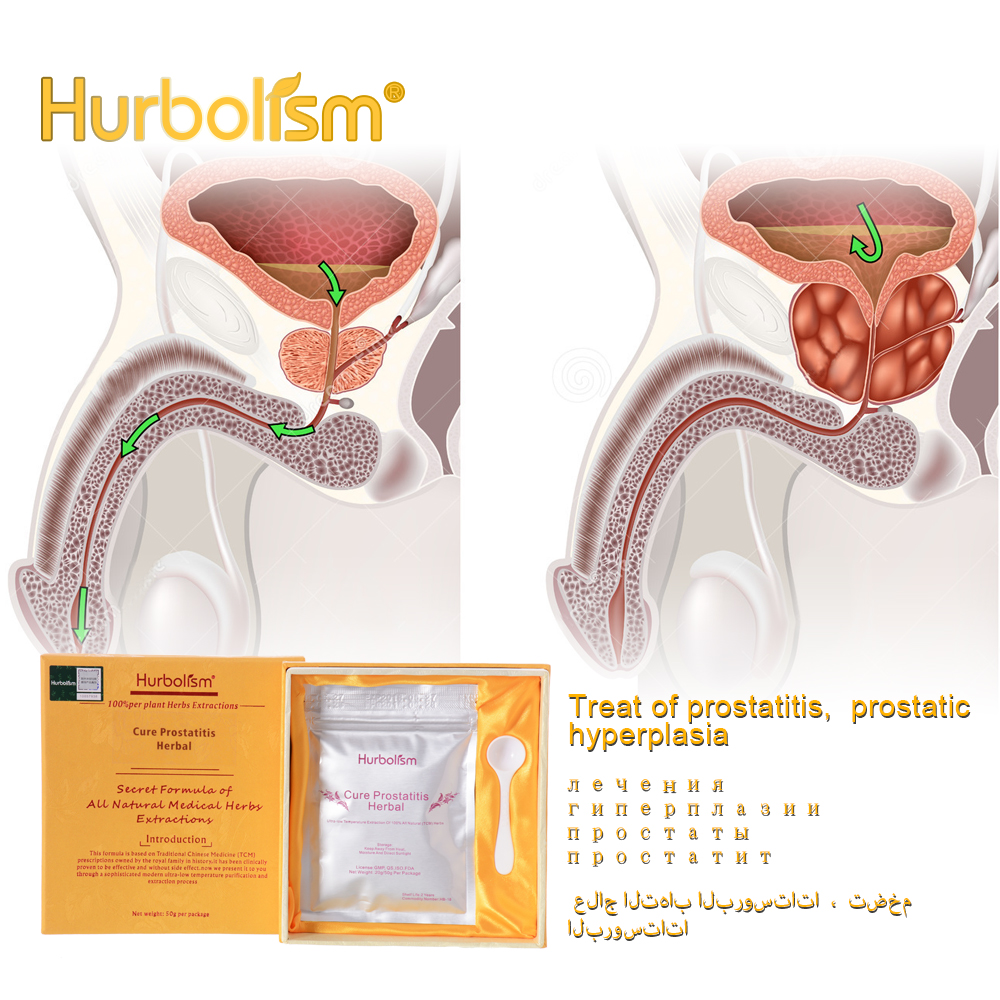 Hurbolism Plant Extracts Powder,Cure Prostatitis,Treat Prostatic Hyperplasia,Ease Urethral Pressure,Eliminate Toxins,50g/lot