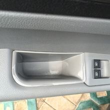 Carmonsons Car Organizer for Skoda Superb 2009-2015 Door Handle Container Holder Tray Storage Box Accessories Car Styling