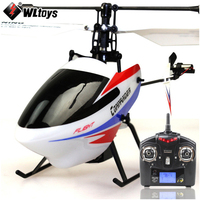 (With two batteries) Original WLtoys V911 Pro ( V911 2 ) 4CH RC Helicopter with Gyro 2.4GHz Electrical Toy for Children RTF