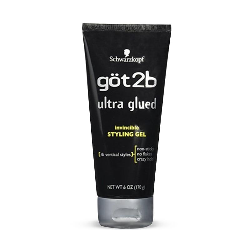 Free Shipping Got2b Ultra Glued Invincible Styling Hair Gel, 35g /170g