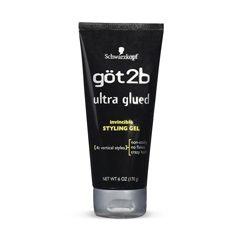 Frete grátis Got2b Ultra Colado Invencível Hair styling Gel, 35g/170g