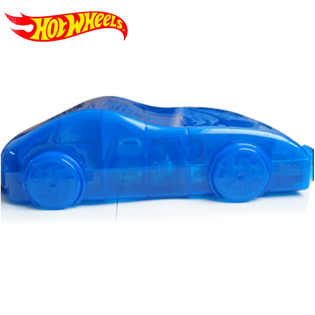 Hot Wheels 2018 Portable Plastic storage box Hold 16Sports models Car Toys Educational Truck Toys Best Boy Juguetes Gift DWN56