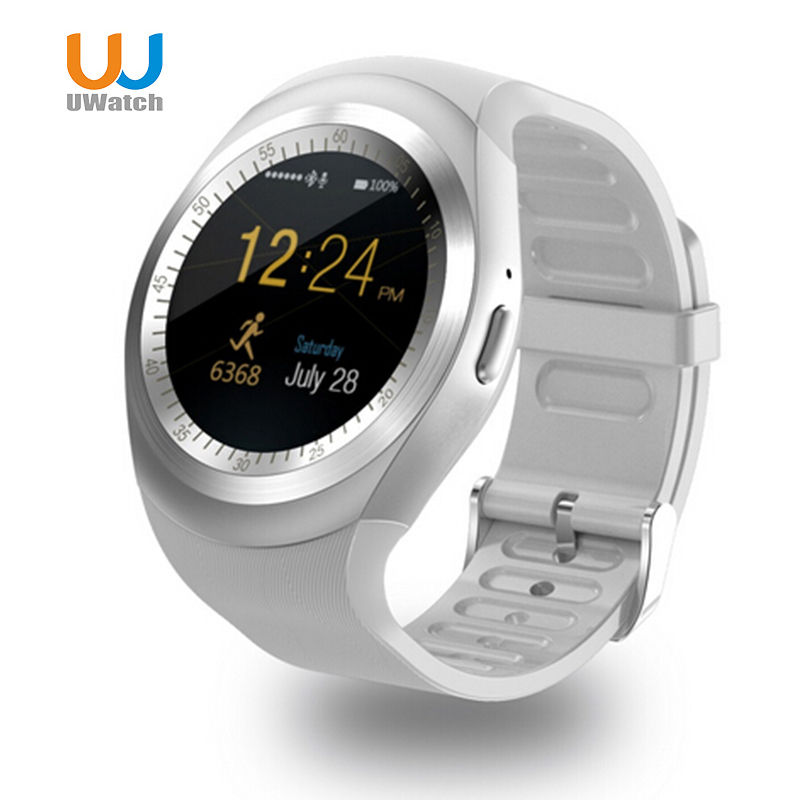 UWatch Y1 Bluetooth Smart Watch Sleep Monitor Pedometer With Whatsapp Facebook Men Women 1 54 inch