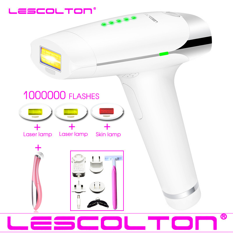 Original Lescolton T009 Permanent Laser Epilator IPL Hair Removal ipl epilator Depilatory Full Body Use ipl