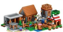 minecrafted 79288 Building Blocks Deluxe Village Minifiguresed Bricks Educational toys gift for kids Compatible With legeod