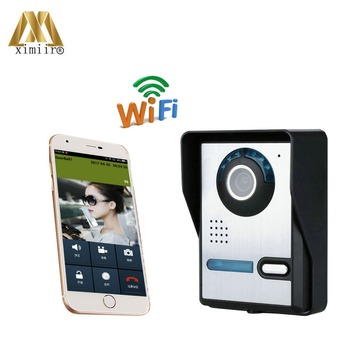 High Pixel IR Camera WiFi1006 Remote Control Access Control System WIFI Video Intercom Video Door Phone System Free Shipping