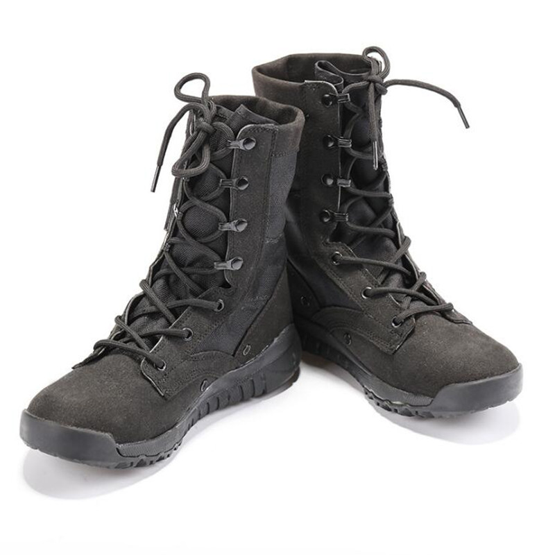 New Summer Military Combat Boots Tactical Breathable Wearable Boots Desert Boots