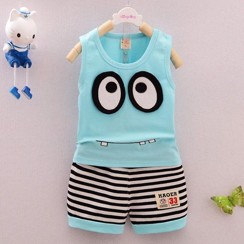 Summer-Kids-Clothes-Set-Cotton-Cartoon-Style-Baby-Boy-Girls-Vest-Stripe-Shorts-2pcs-Clothing-Set-Children-Sport-Suit-Hot-1