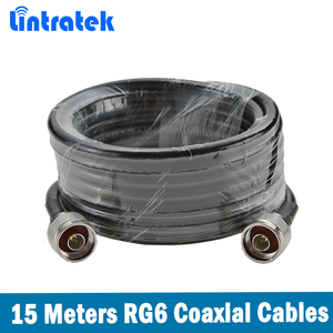 Image 5 - Lintratek 800 ~ 2700mhz LPDA חיצוני אנטנת תקרה מקורה אנטנת 15 מטר coxial כבל עבור 2G 3G 4G נייד אות מאיץ @ 8.5