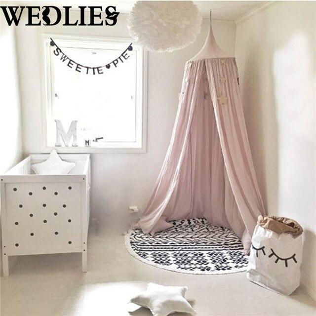 enfants b b literie d me lit baldaquin compensation couvre lit moustiquaire rideau pour b b. Black Bedroom Furniture Sets. Home Design Ideas