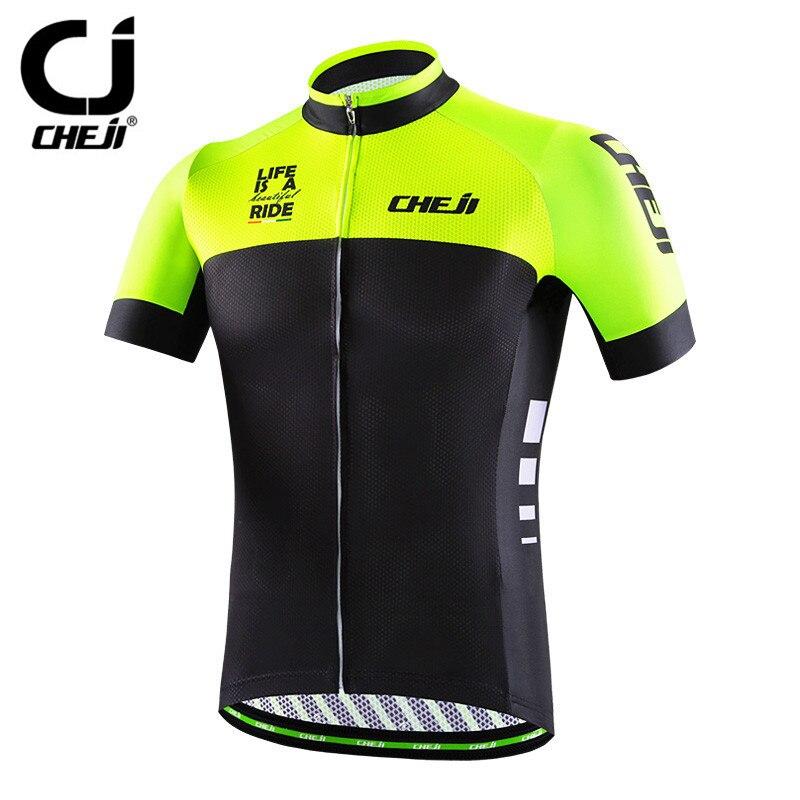 цена на Cycling Jersey 2018 Cheji Racing Sport Bike Jersey Tops mtb Bicycle Cycling Clothing Ropa Ciclismo Summer Cycling Wear Clothes