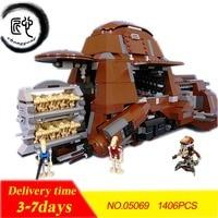 NEW Federation Transportation Tank MTT fit legoings star wars figures droid robot model Building Blocks bricks 7662 gift kid Toy