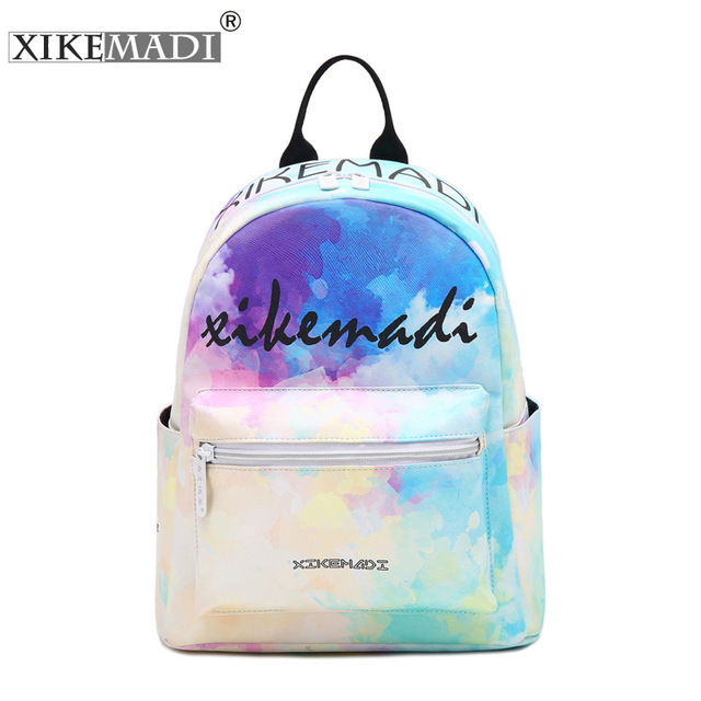 2c753bd0a7 Fashion PU Leather Designer Teenage School Backpack For Girls Women  Japanese Printing Popular Backpack Sac A Dos Mochila Bagpack