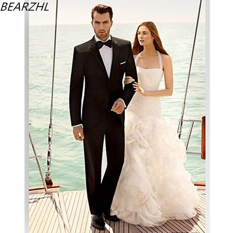 burrat e fustanit të dasmës i përshtaten kostumeve të bëra me - Veshje për meshkuj