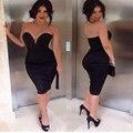 2015 Мода Новые Повседневная Denim Party Ночной Клуб Bodycon Платье Женщины Sexy Тонкий Колен Без Рукавов Starapless Бальные Платья