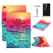 Fashion Painted Case Cover For ipad Air 1 PU Leather Tablet Case For ipad 5 9.7 inch A1474 A1475 A1476 Smart Cover Protective new in stock yd25 48s12