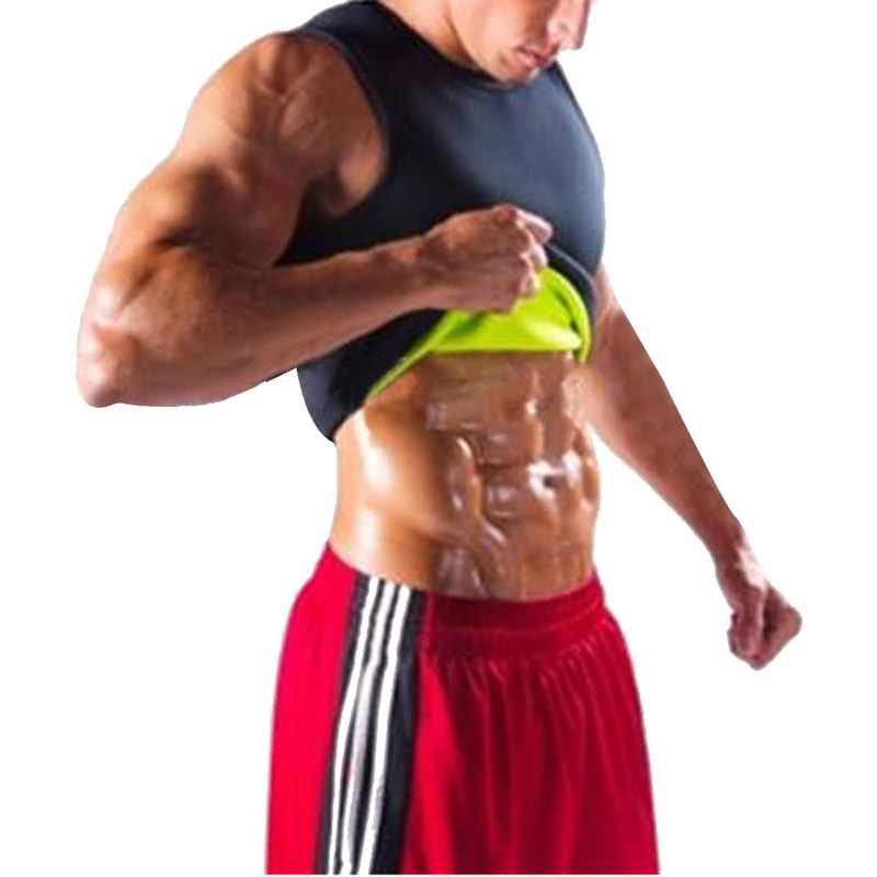 2019 новый мужской жилет с эффектом сауны Шейперы для похудения рубашка черная рубашка для бега мужская форма r футболка для похудения Талия тренерские Корсеты форма Одежда