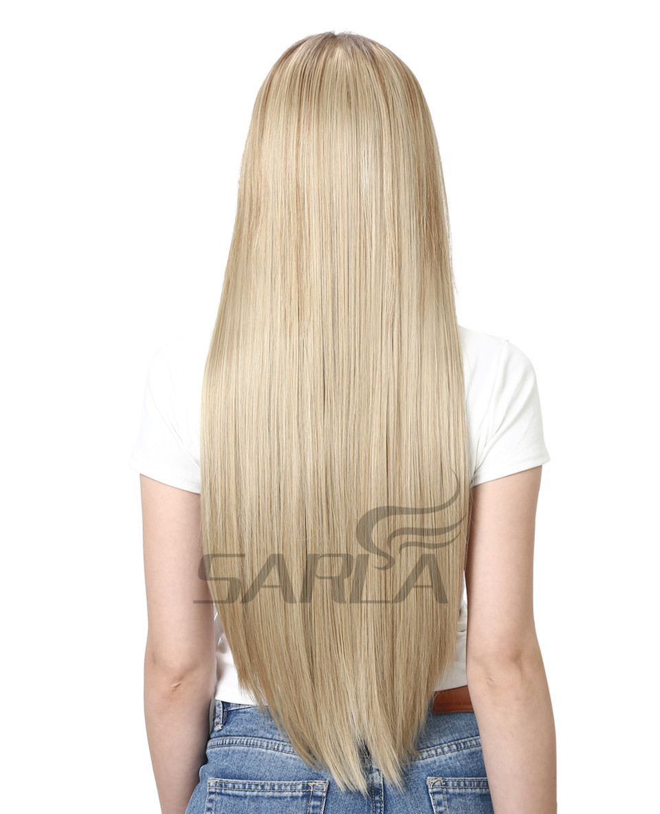 Women's 24in Straight Hair Extensions 11