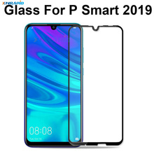 huawei glass for p smart 2019 screen protector cover psmart smat p-smart protective glas film case