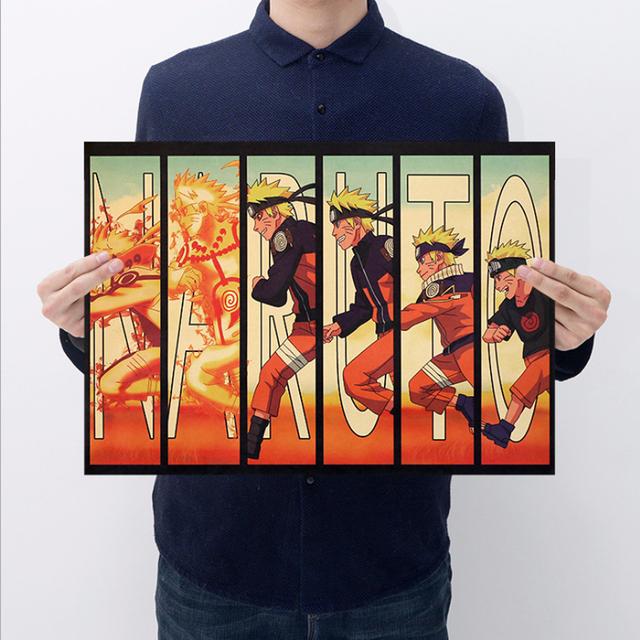 Naruto Transform Wall Poster 51×35.5CM