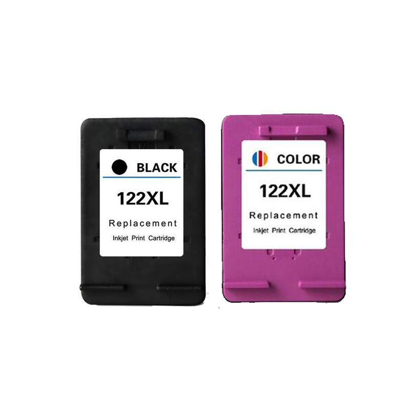 2Pcs Cartridge For hp 122xl Ink Cartridge for HP 122 For HP Deskjet 1510 1050A 2050A