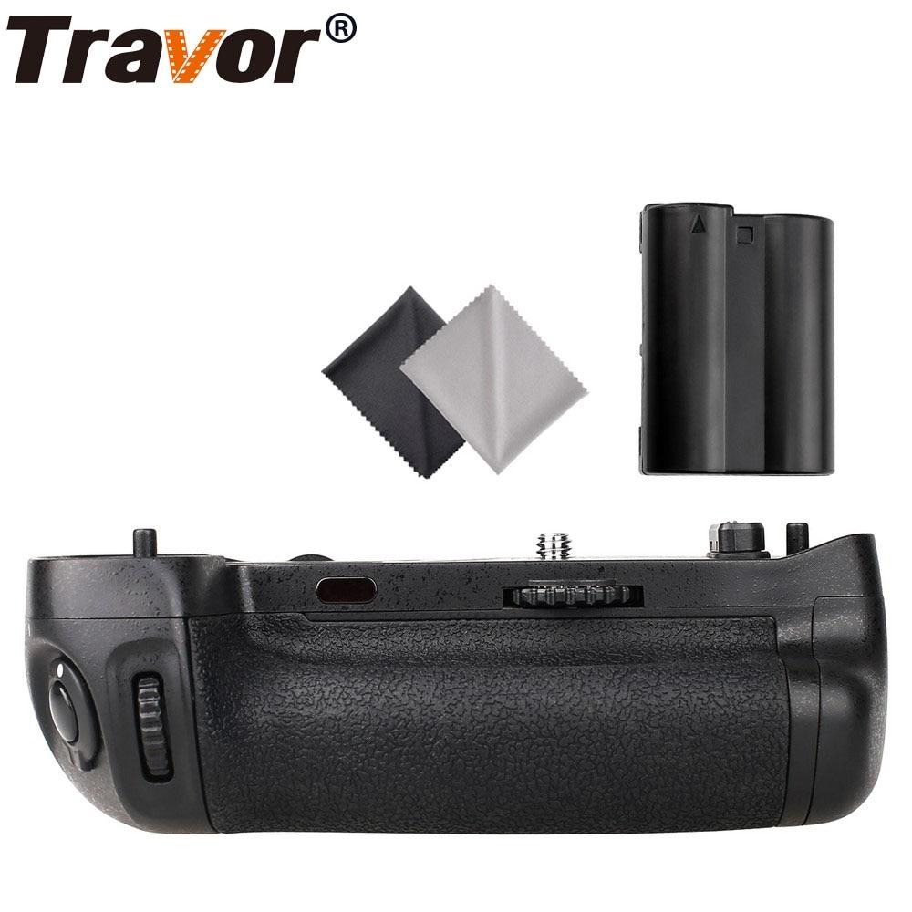 Travor vertical Battery Grip for Nikon D750 DSLR Camera as MB D16 EN EL15 battery 2pcs