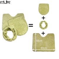 EZLIFE 3Pcs Super Soft Polyester Thickening Toilet Potty Sets Toilet Seat Cover Warm Close Stool Cushion Mat Dropshipping