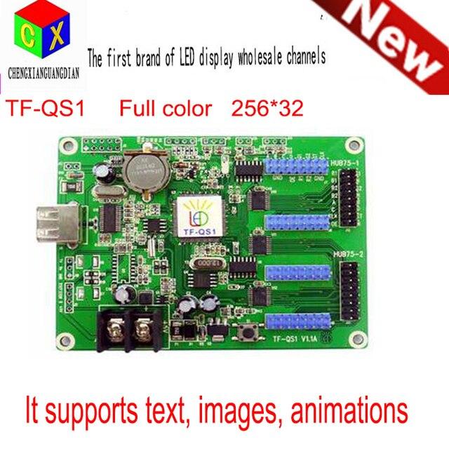 Асинхронный полноцветный платы управления TF-QS1 может разделить СВЕТОДИОДНЫЙ дисплей полный цвет черно-белое видео карты 8 М