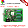 Asynchronous full-color control card TF-QS1 can partition LED display full color grayscale video card 8 M