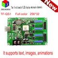 TF-QS1 pode particionar assíncrona full-color cartão de controle display LED full color em tons de cinza placa de vídeo 8 M