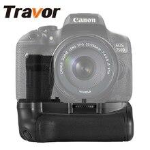 Новый Profeesional Батарея ручка для Canon 750D 760D T6i T6s X8i 8000D Камера как BGE18